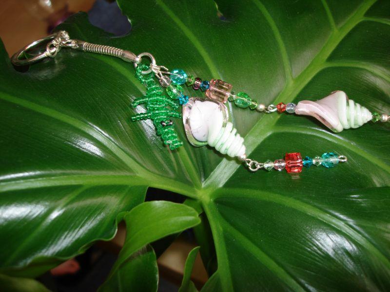 Porte clés en perles dans Les accessoires dsc02556