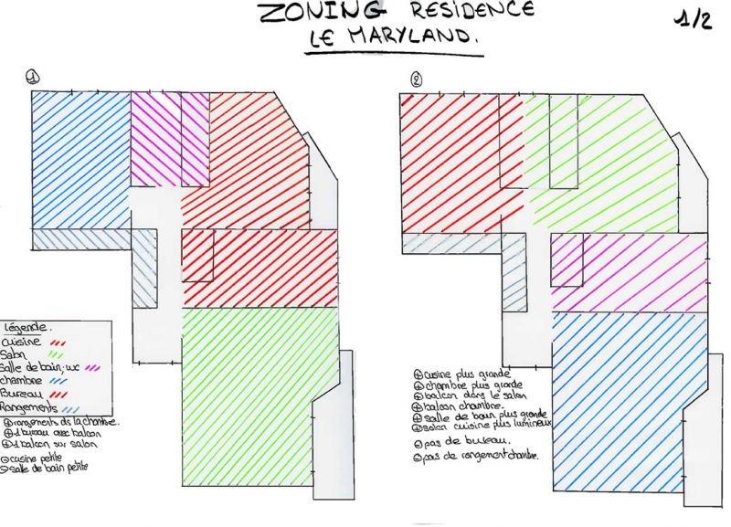 Zoning de la Résidence Le Maryland dans Dessins et planches tendances zoning1
