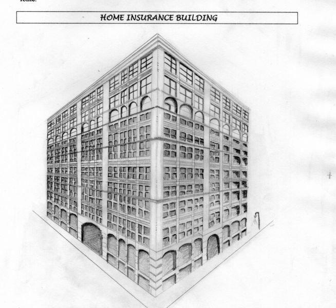 Croquis Home Insurance Building dans Dessins et planches tendances img030